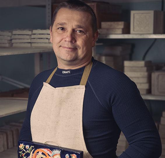 Директор компании ярославская майолика с изразцомМаксим Жук